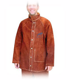 Welding jacket leather, size L