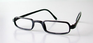 Reading glasses RG-09 black + 2,0